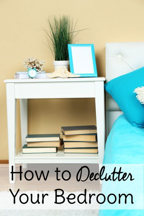 How to Declutter a Bedroom is part of bedroom Organization Plan - Bedroom organization begins with decluttering! Learn how to declutter a bedroom so you can organize and decorate to your heart's content