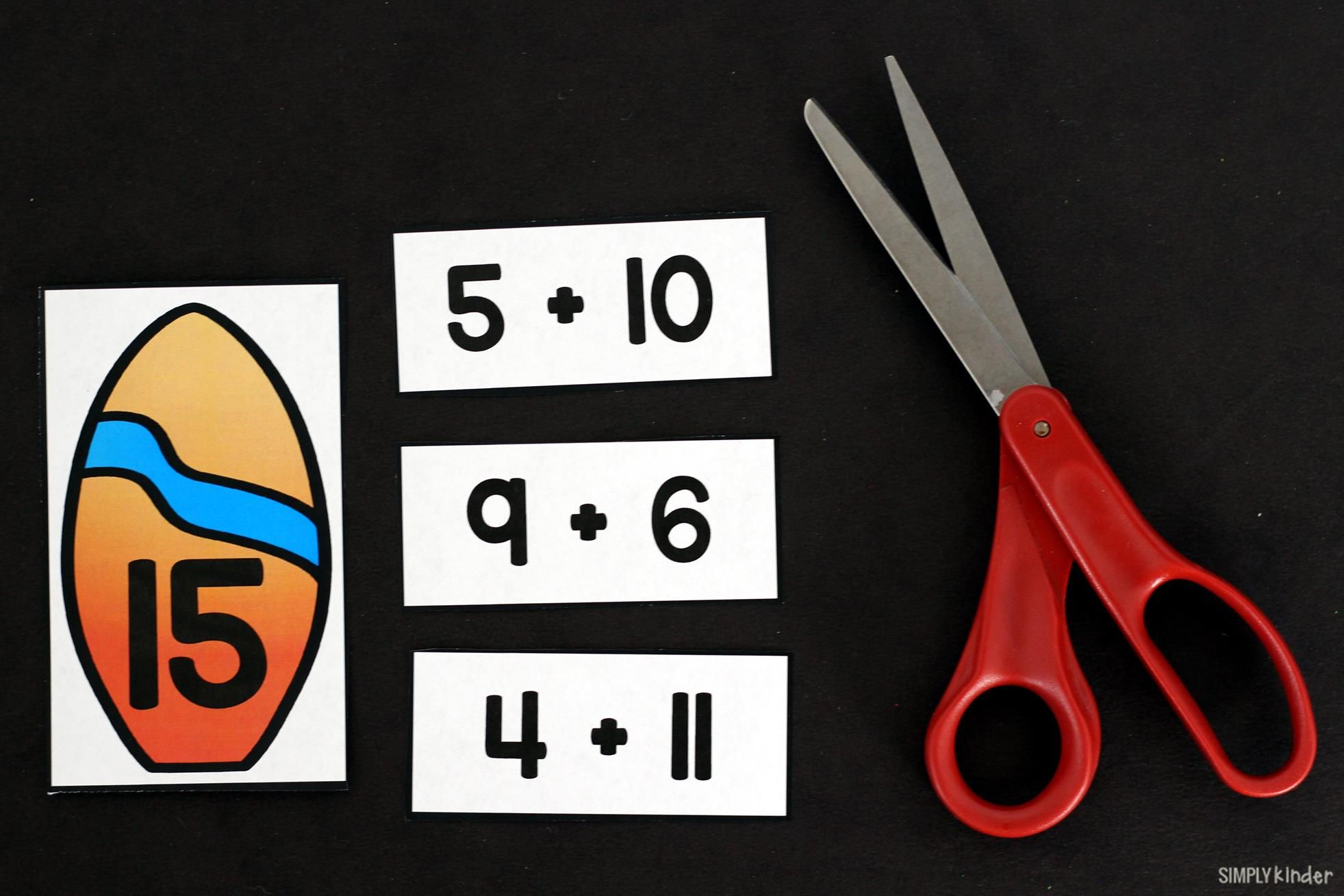 Surfing Addition Puzzles