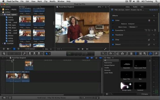 In this free Final Cut Pro X video, you learn about Timeline