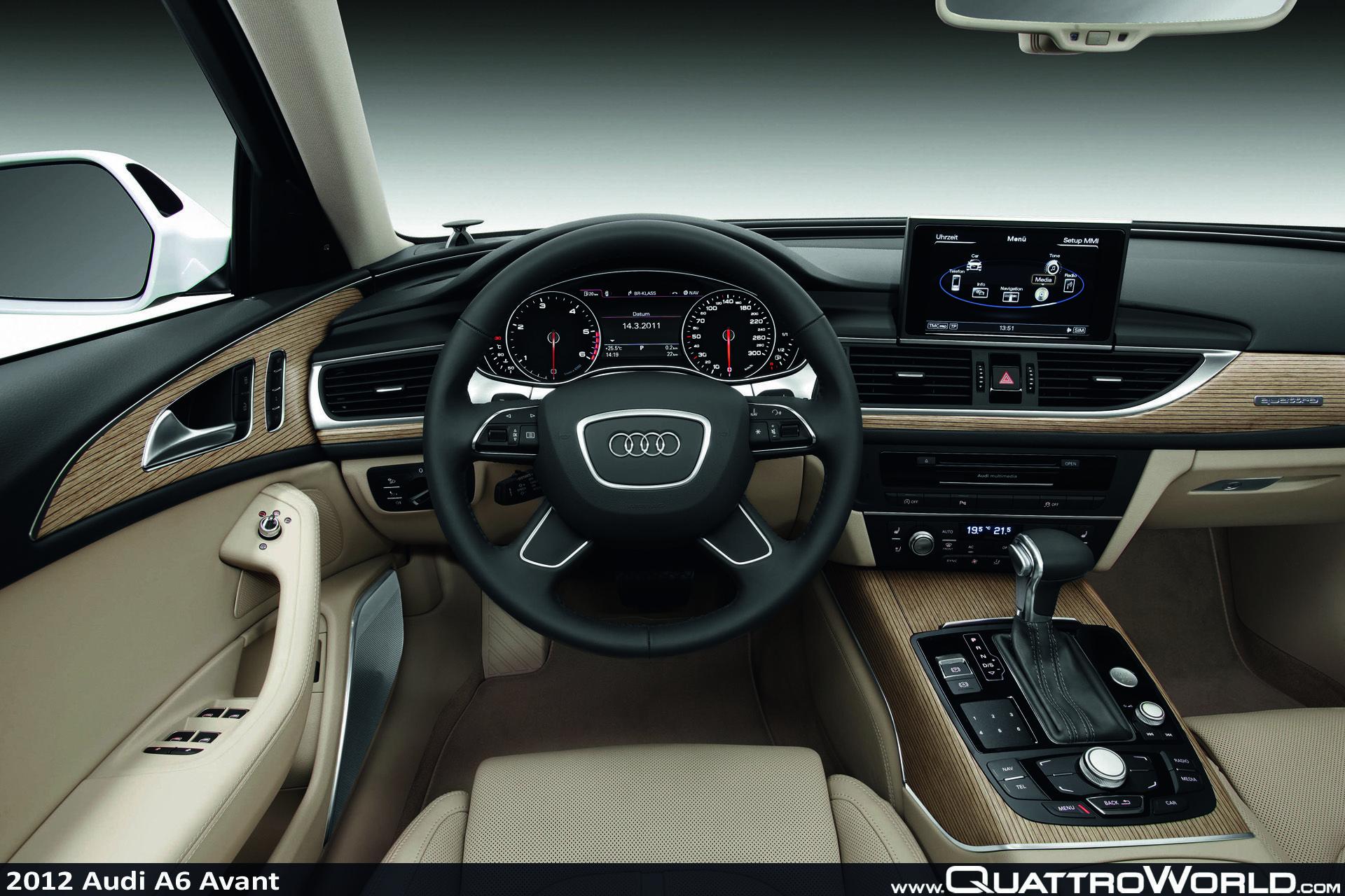 Audi A6 Avant Innenraum Audi A6 Avant Audi A6 Audi Interior