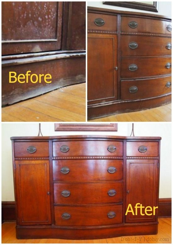 How To Fix Loose Damaged Or Missing Veneer Furniture