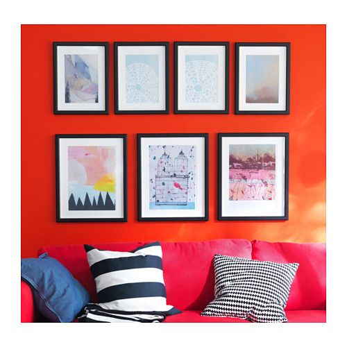 MÅTTEBY Wall hanging template, set of 4 - IKEA   Frames and Thangs ...