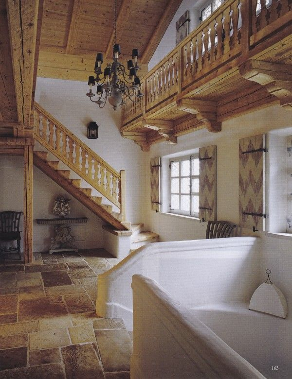 Swish Chalet Cristopher Worthland Interiors Chalet Interior Charming House Staircase
