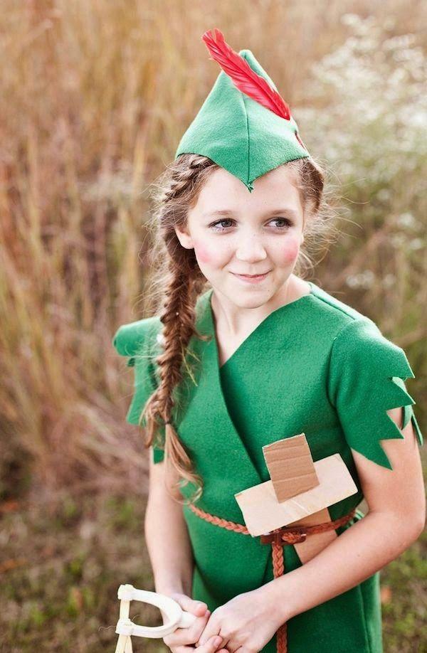 HT Adult Unisex Costume Fancy Dress Peter Pan Robin Hood Elf Green