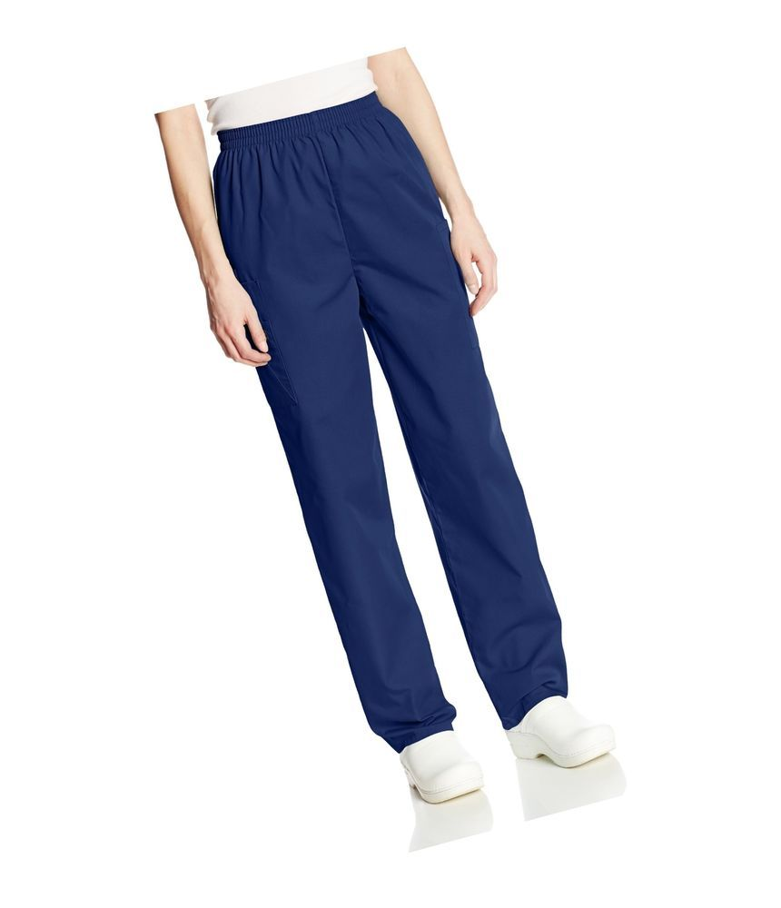 984e0c1dc1e eBay #Sponsored Cherokee Women's Workwear Scrubs Pull-On Cargo Pant Navy  Medium Petite