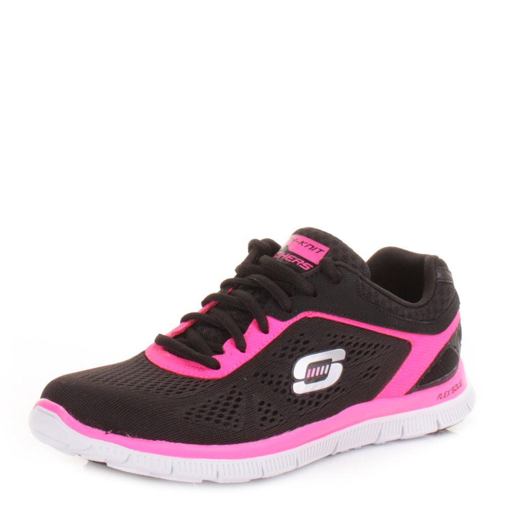 Skechers Womens Trainers Shoes