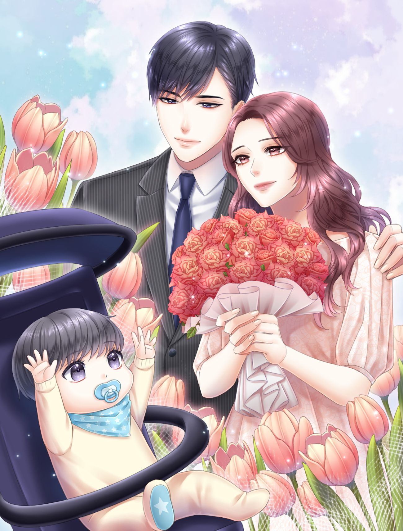 속지 마세요 Anime love story, Anime family, Anime romance