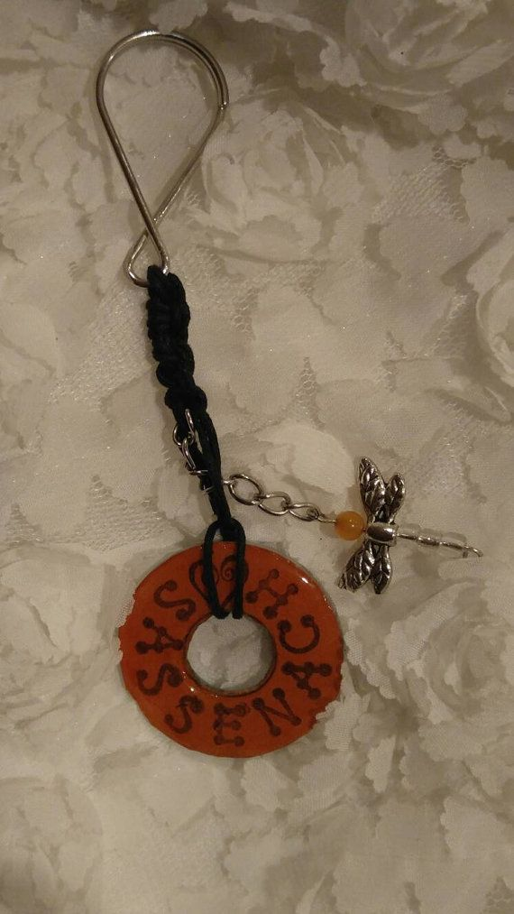 Check out this item in my Etsy shop https://www.etsy.com/listing/469144001/outlander-themed-keychain-handmade-with
