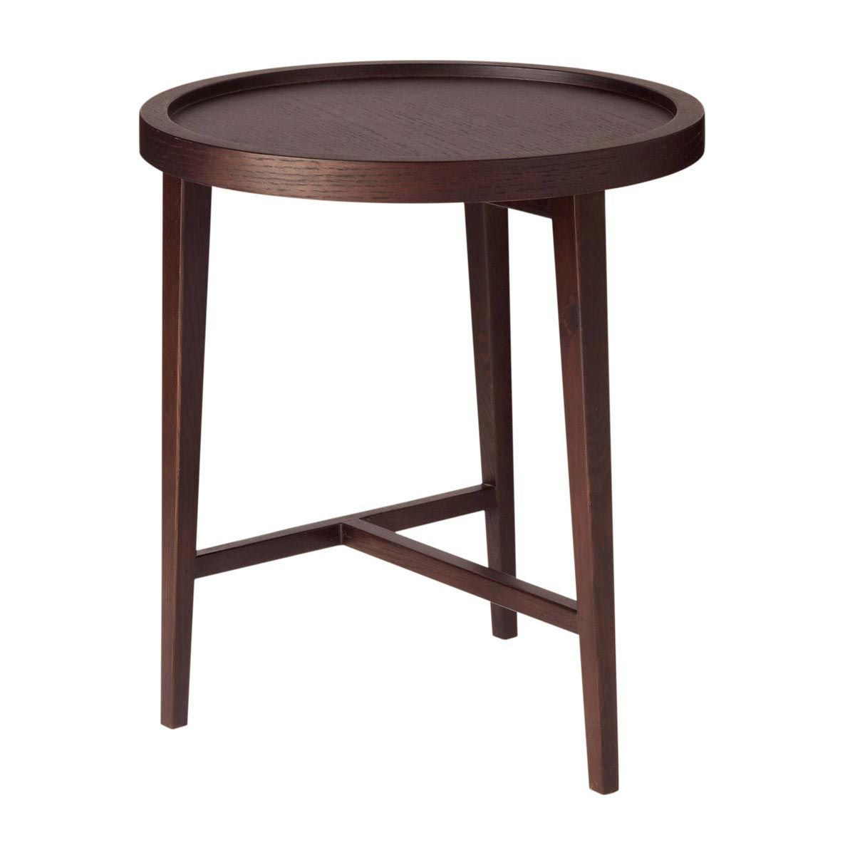 Boston Dark Wood Side Table Small Also Do A Large One