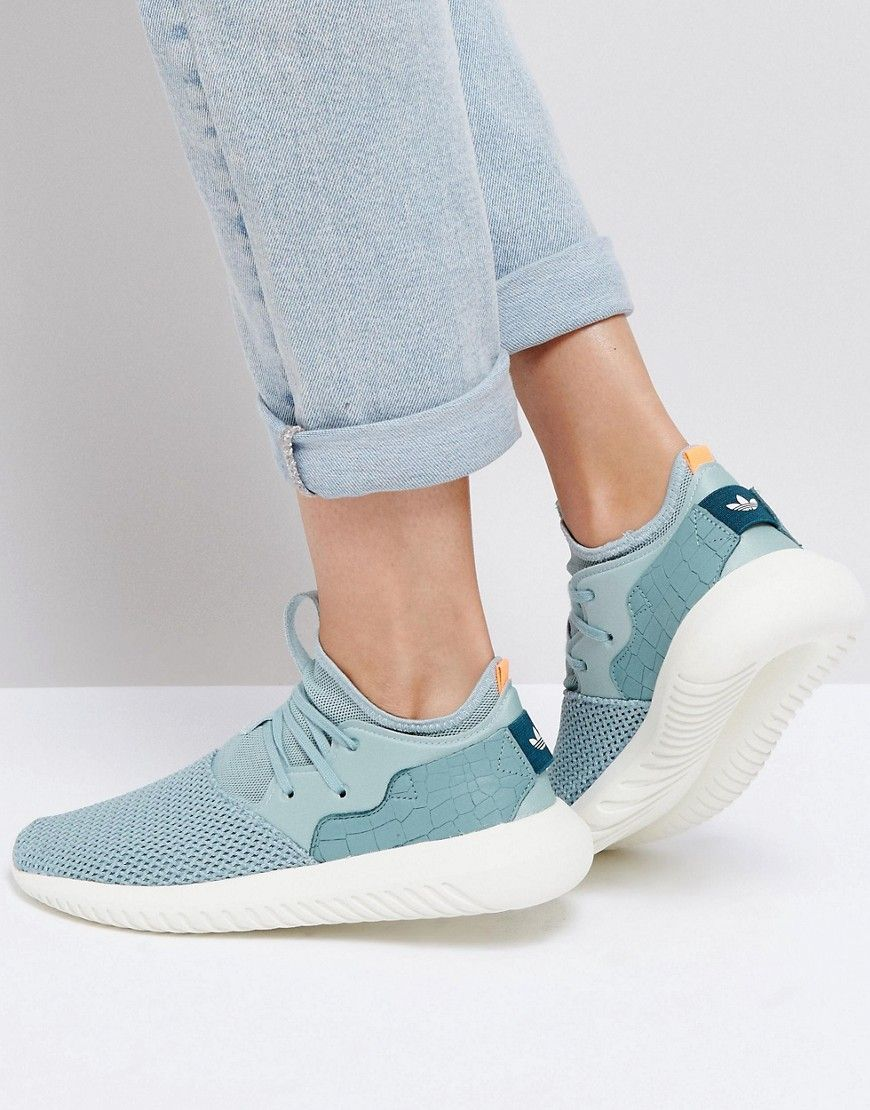 best service 18b40 11de4 ADIDAS ORIGINALS ADIDAS ORIGINALS TEAL GREEN TUBULAR ENTRAP SNEAKERS -  GREEN. adidasoriginals shoes