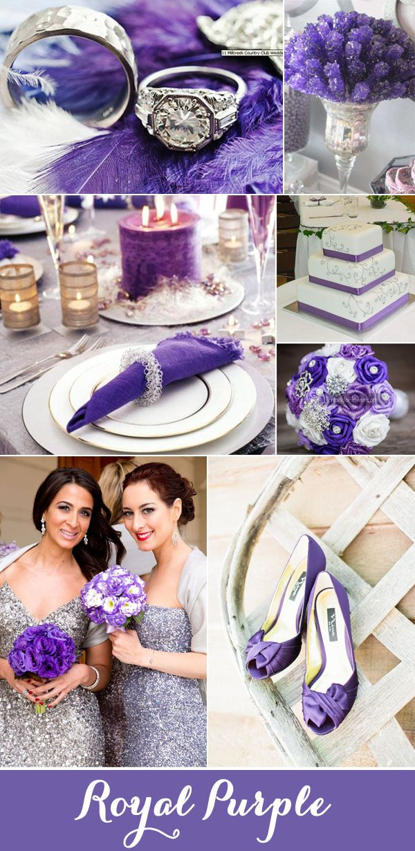 Top 7 Purple And Grey Wedding Color Palettes For 2017 Gray