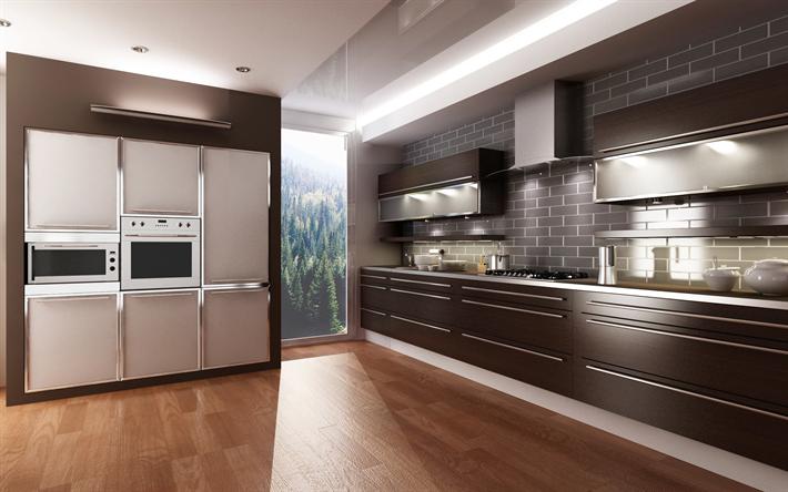 Herunterladen hintergrundbild moderne küche design, moderne ...