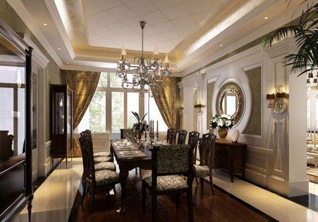 Fancy overhead chandelier