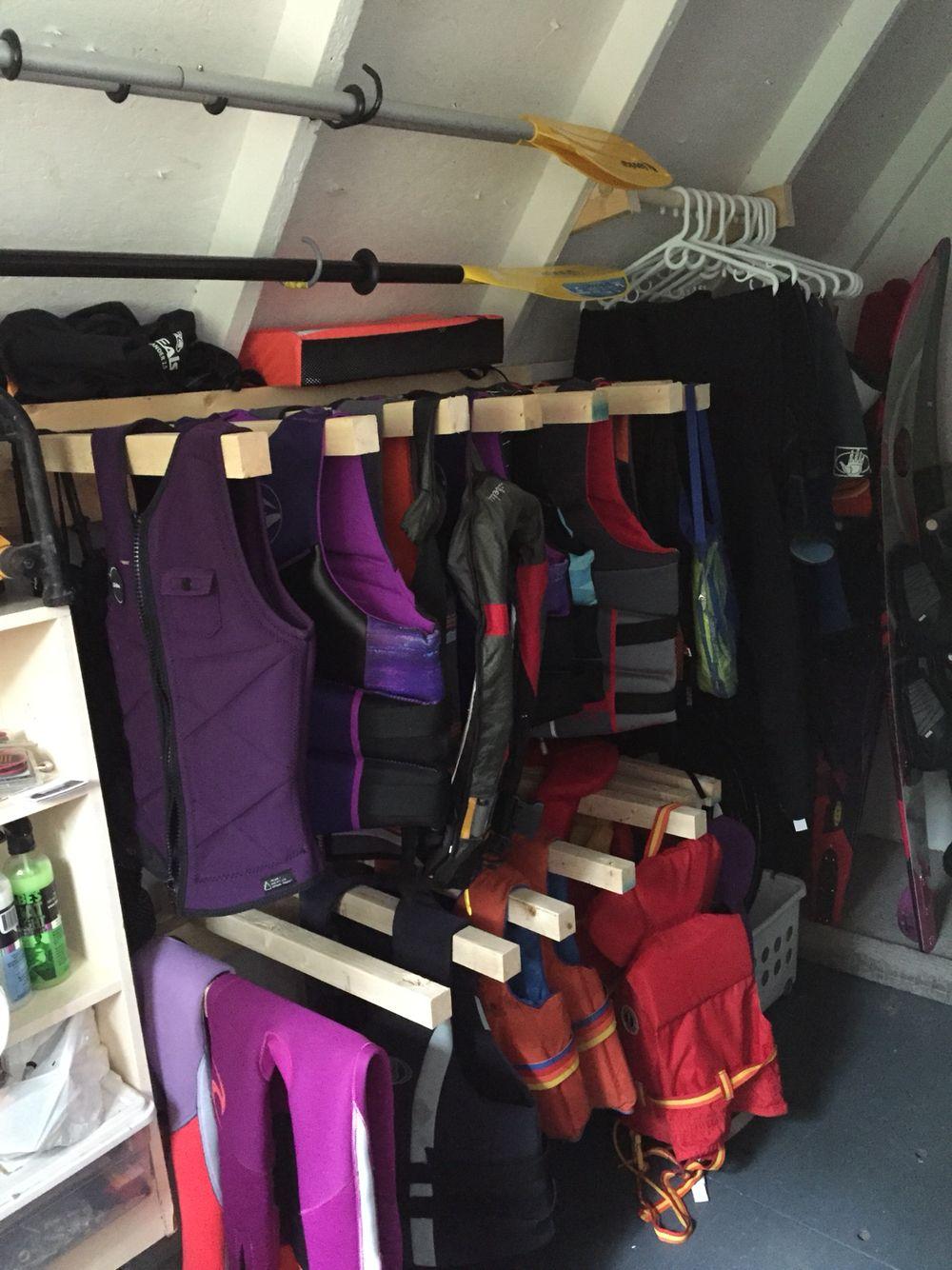 Wonderful Life Jacket Storage