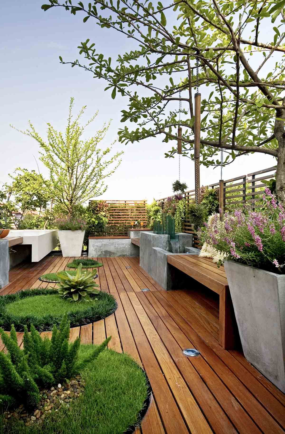 33 Beautiful Built-In Planter Ideas to Upgrade Your Outdoor Space ...