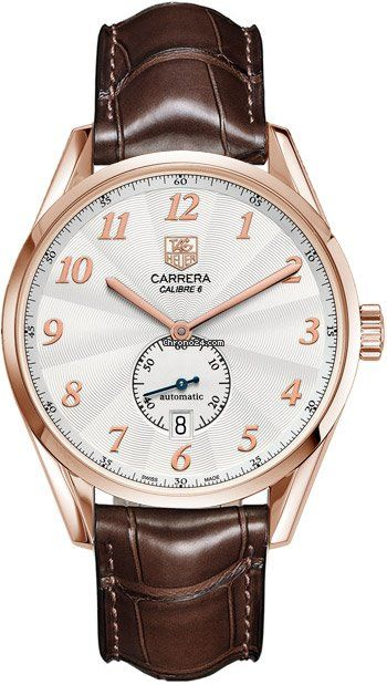58e3e6d6eca TAG Heuer Carrera Heritage Silver Dial Brown Leather Automatic Mens Watch  WAS2140.FC8176 $7,425 #TagHeuer #watch #watches #chronograph Polished solid  rose ...