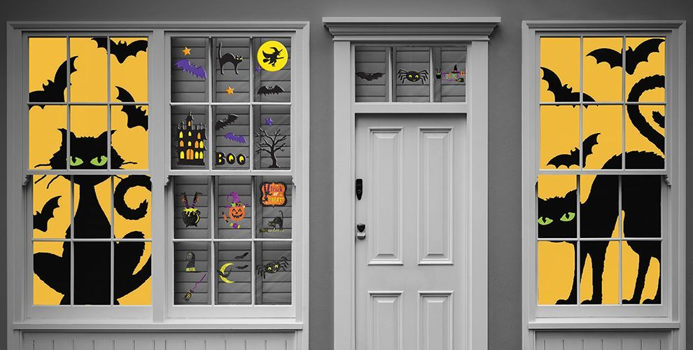 Halloween Window Decorations Ideas to Spook up Your Neighbors - halloween window ideas