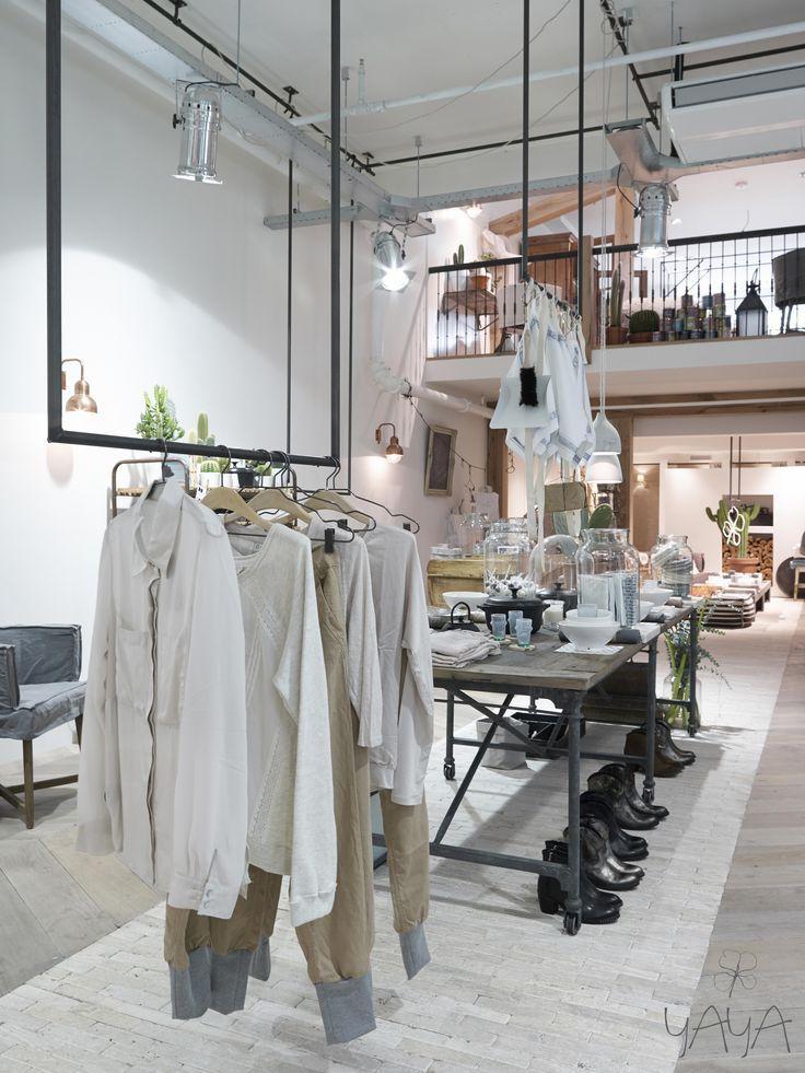 Beautiful Scandinavian Shop Interior ร าน