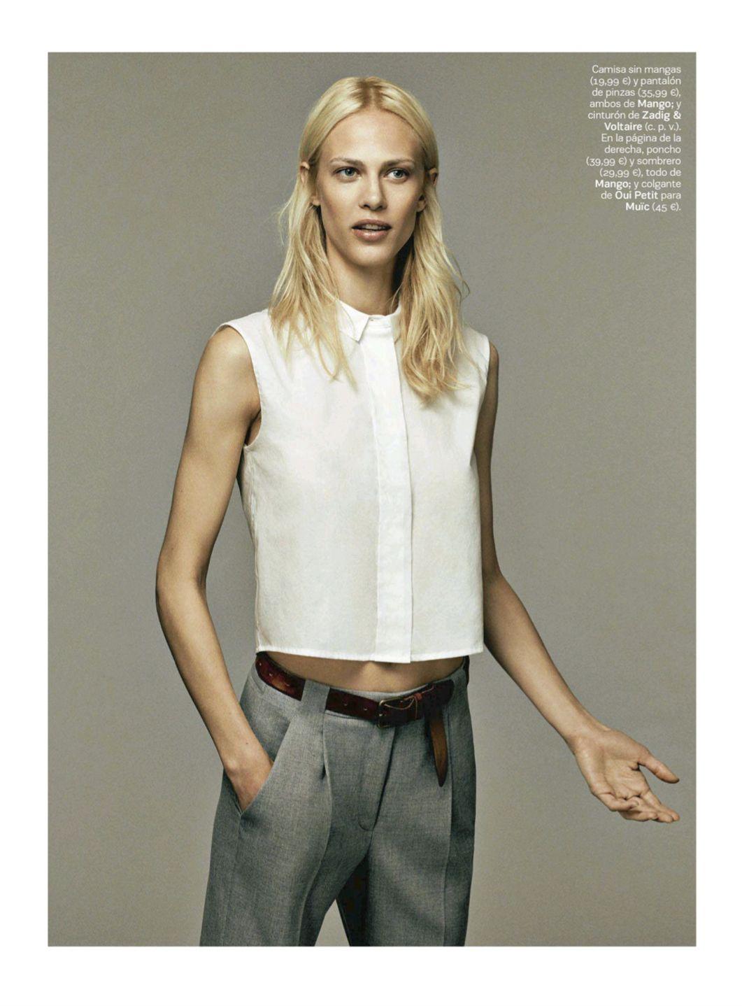 S Moda August 2014   Aymeline Valade by Damon Baker [Editorial]