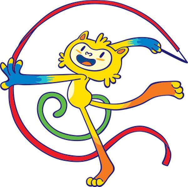 Pictogramas das Olimpadas de 2016 com um dos mascotes  Pesquisa