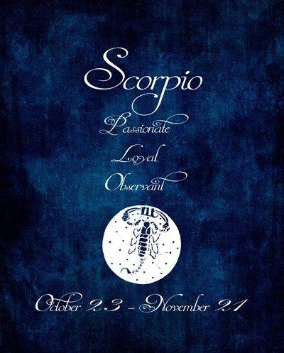 Scorpio ~