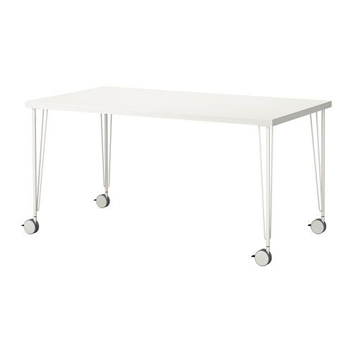 Beau 6 Of These Tables... Combine For Large Conference Table Or Split Up For  Multiple Uses | $75.99 LINNMON/KRILLE Table IKEA Pre Drilled Leg Holes For  Easy ...