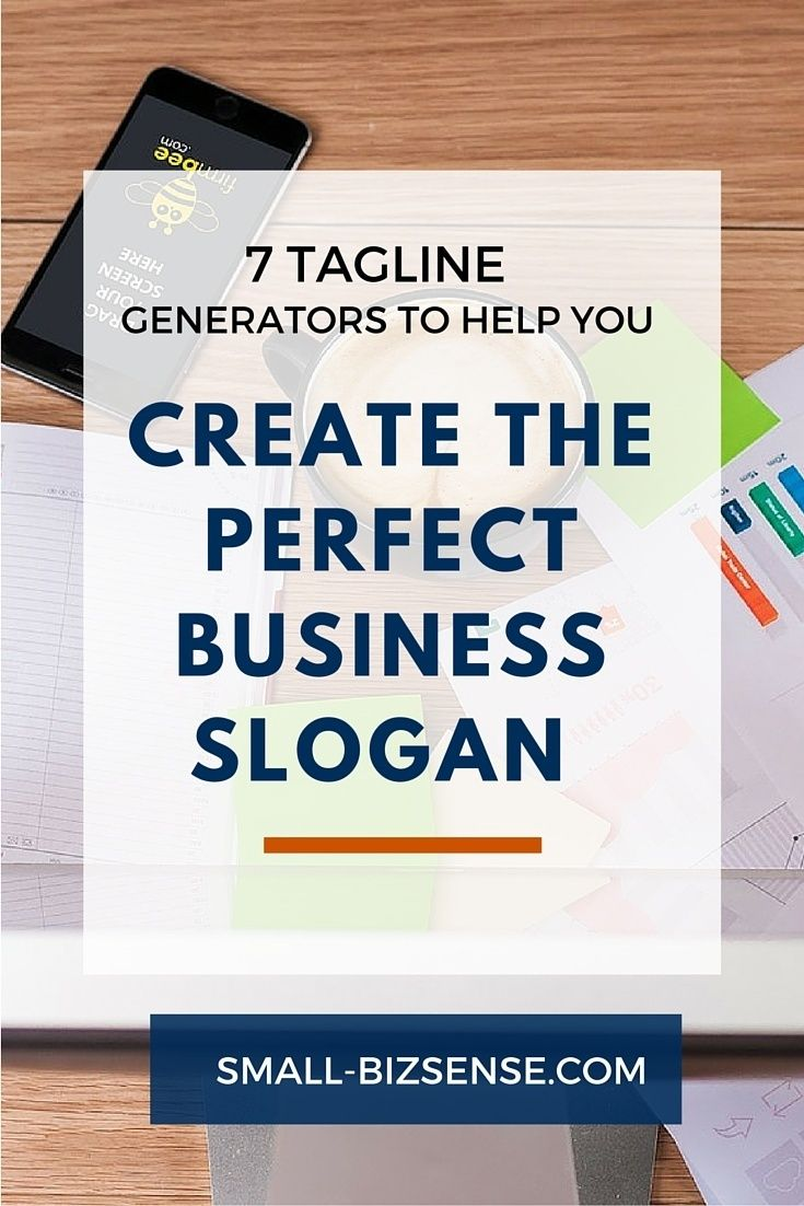 7 Tagline Generators That Help You Create The Perfect Business