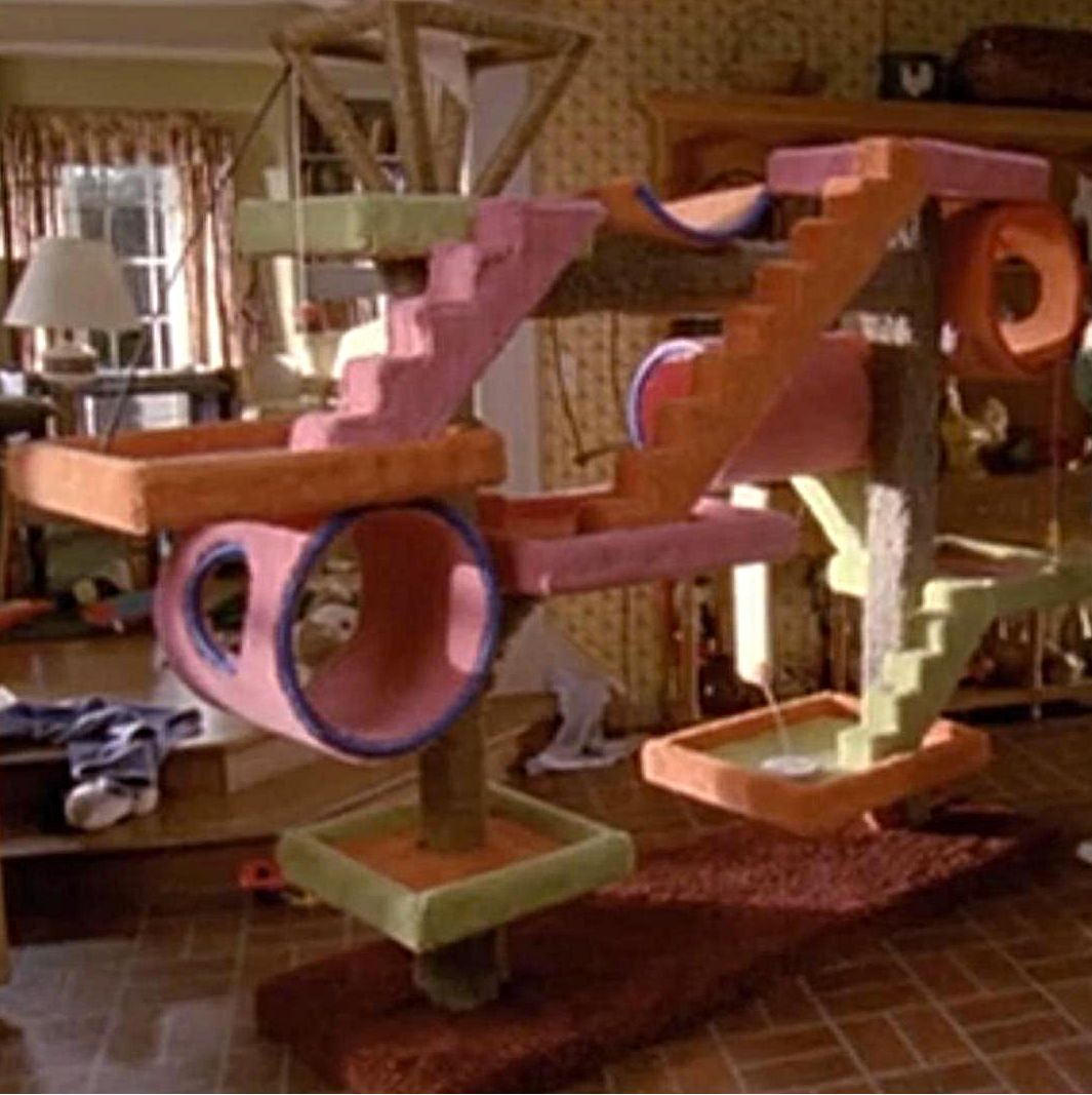 Cat Tree From The Television Series,