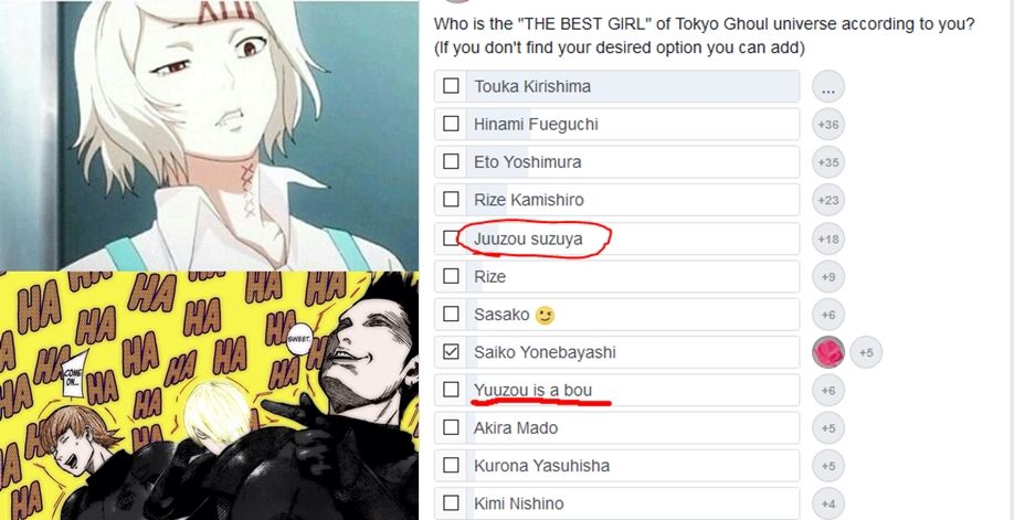 Juuzou As A Best Girl Xd Those Auction Dress Worked For Him I