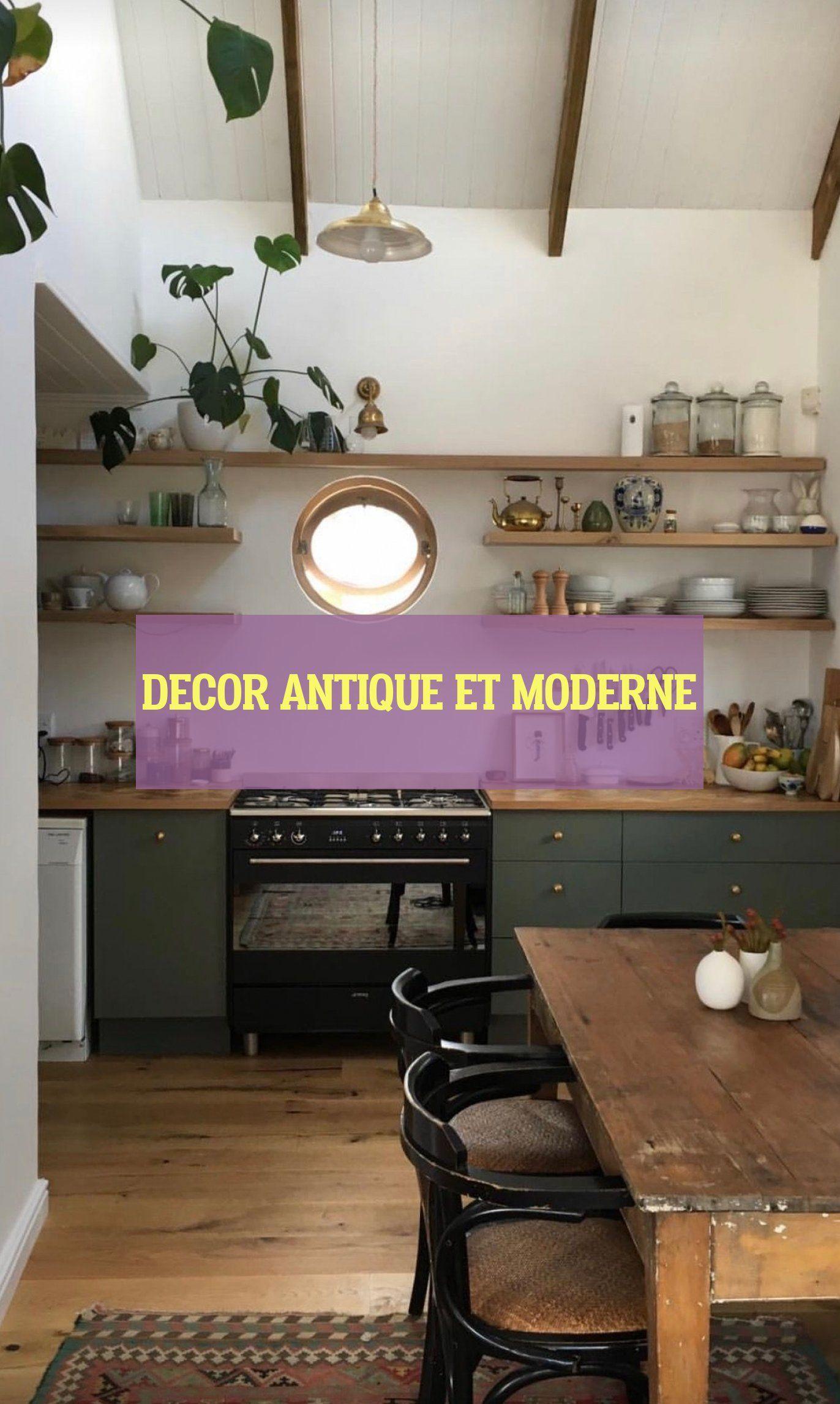 decor antique et moderne