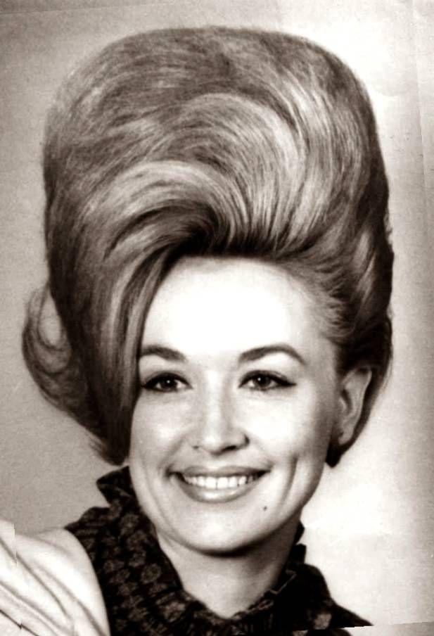 1960s hairstyles - bouffant fashion