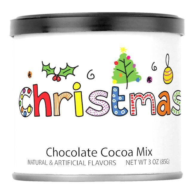 Christmas Hot Chocolate Drink Mix    Christmas Hot Chocolate Drink Mix