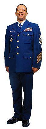 Coast Guard Dress Uniform: Enlisted