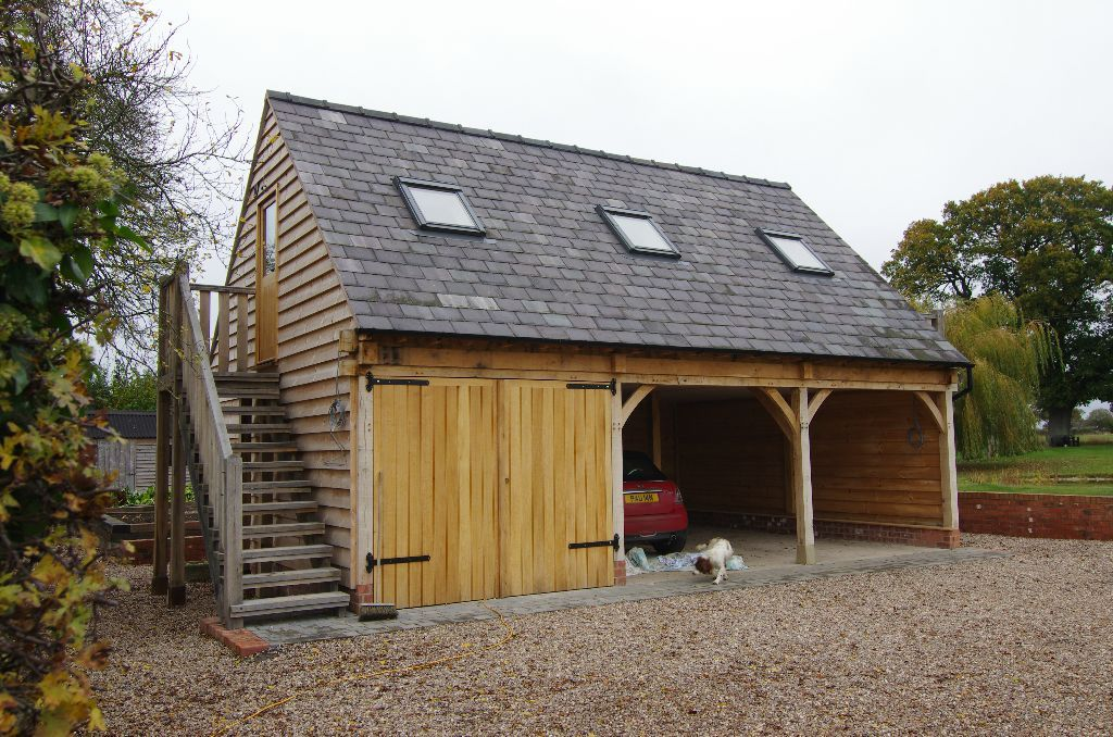 Pin by Prime Oak on Garages Carport with storage, New