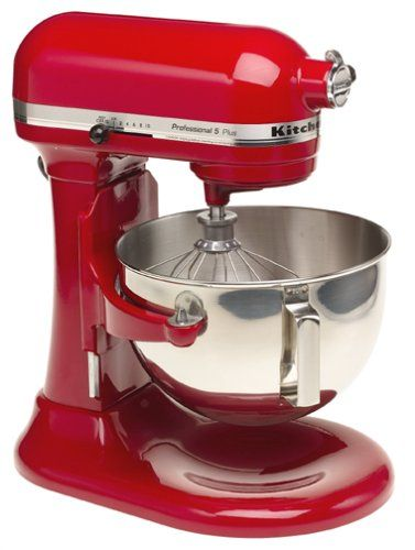 5 Efficient Stand Mixers From Kitchenaid Kitchen Aid Mixer Red