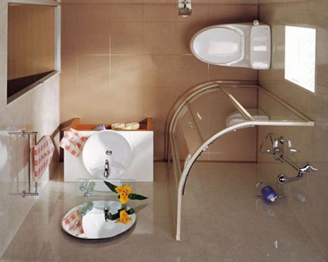 11 Excelentes ideas para un cuarto de baño pequeño | Cuartos de ...