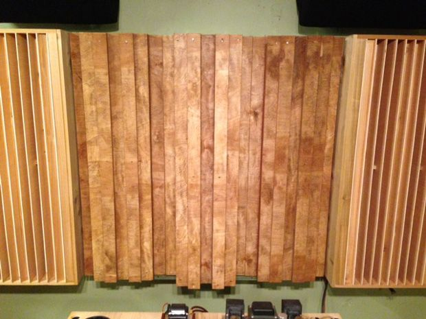 Sound Diffusers 101 Free Designs For Diy Diffuser Panels Acoustic Diffuser Diffuser Diy Acoustic Panels