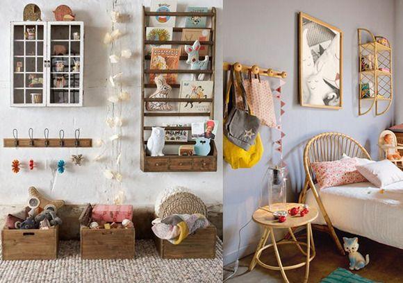 Estilo vintage para el cuarto del beb decoracion for Accesorios habitacion bebe