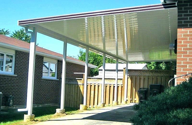 metal deck awning metal awnings for