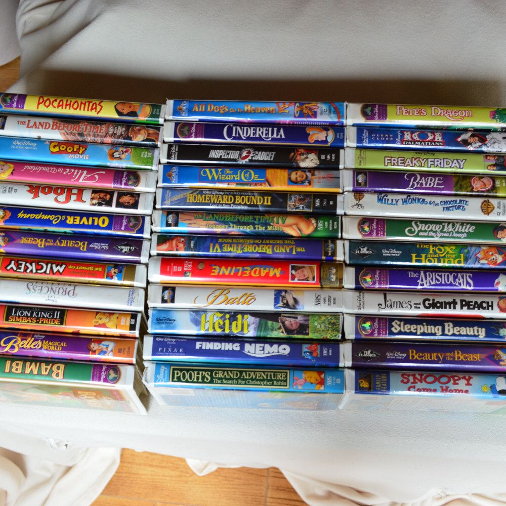 Hey, check out what I'm selling with Sello: 38 Disney VHS videos http://jaeger.sello.com/shares/99Gl3