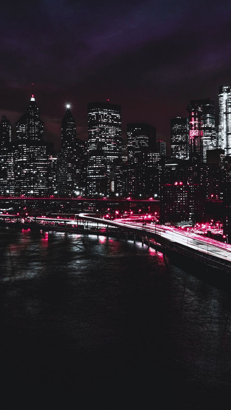 Android Wallpaper Places New York Usa Night