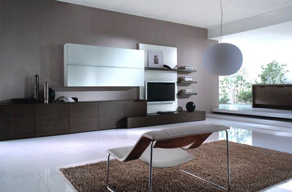 21 hinreißende moderne, minimalistische Wohnzimmergestaltung ...