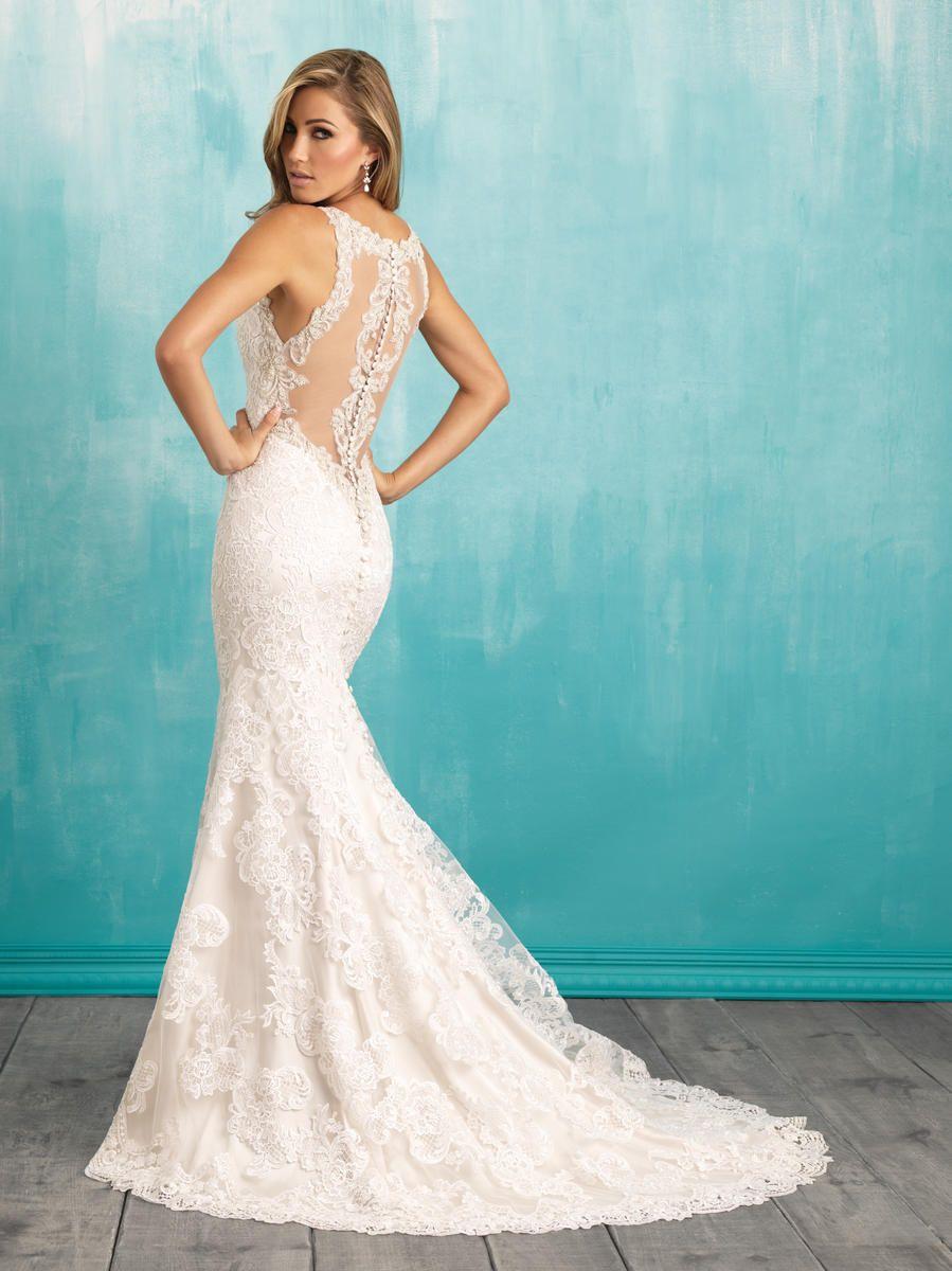 Allure Bridals 9316 Allure Bridal Bedazzled Bridal and Formal ...