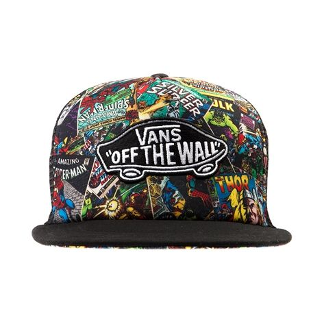 f79adedba30 Shop for Vans Classic Patch Marvel Collage Hat in Multi at Journeys Shoes. ☪