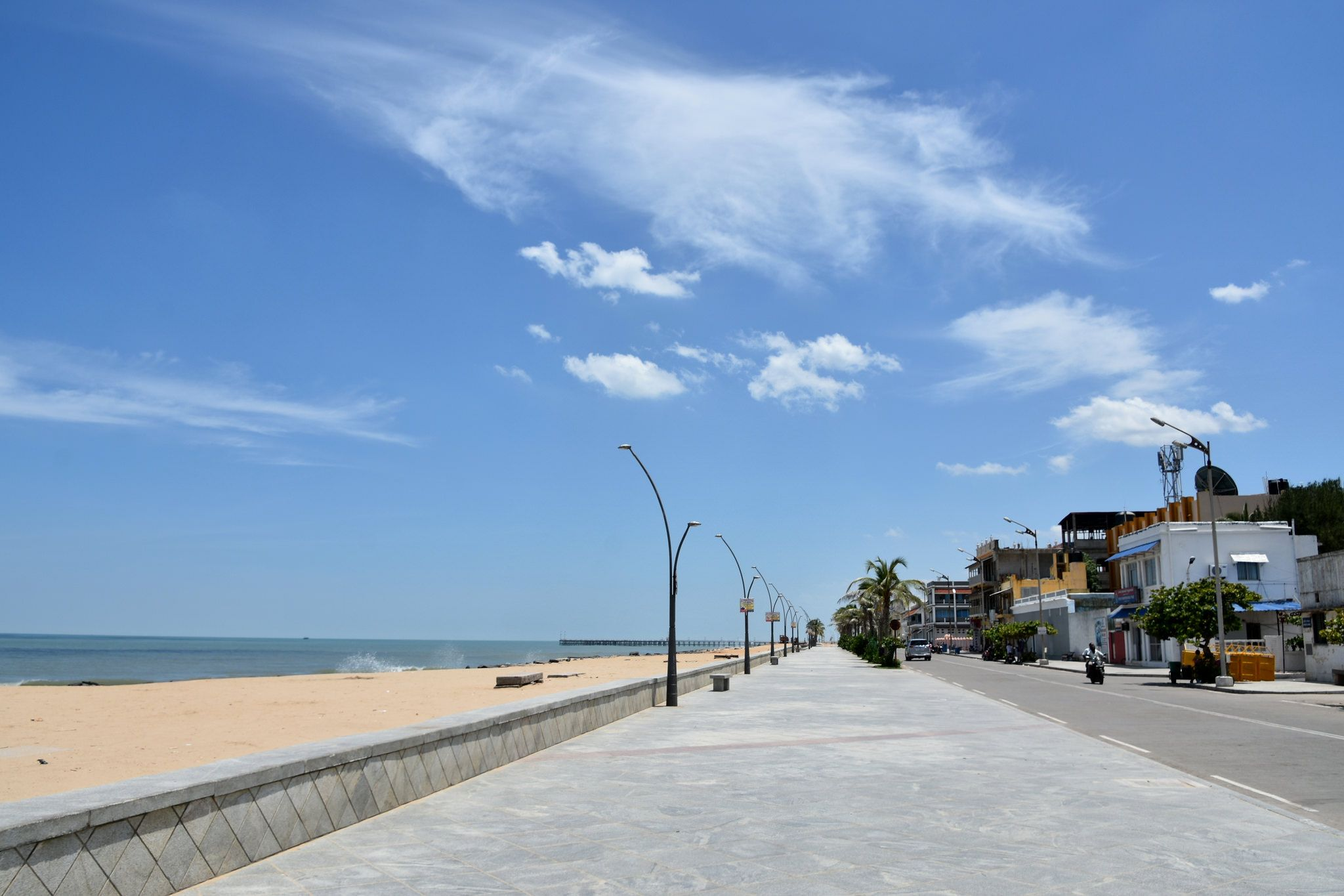 Promenade beach beach outdoor water