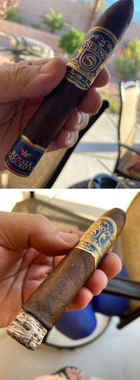 Serino 20th Anniversary Royal Maduro XX Belicoso Cigar