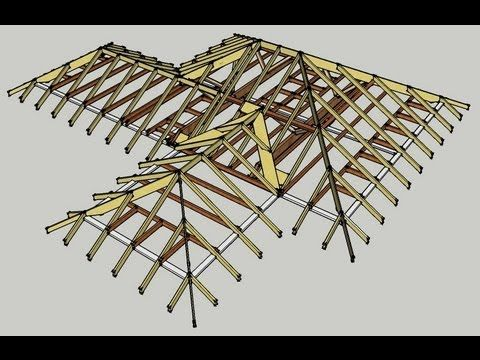 Should Rafters Always Line Up Across A Ridge Hip Or Valley A Common Question Youtube Roof Design Roofing Felt Roof