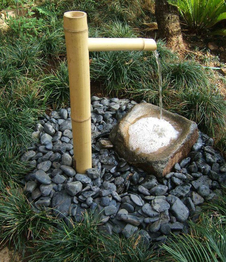 40 fontane zen da giardino che infondono pace e relax - Giardini zen da interno ...