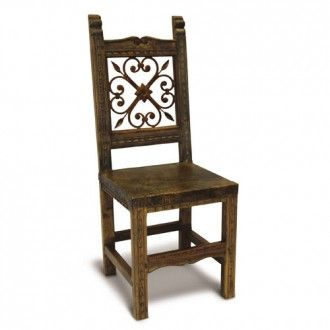 Spanish Reclaimed Solid Timber Wrought Iron Dining Chair Dining Chairs Chair Next Dining Chairs