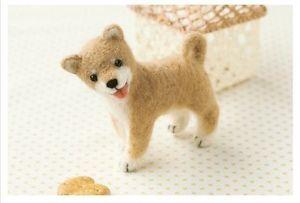 Japanese Shiba Inu - Needle Felted Animal Mascot Kit Wool Dog ...